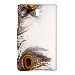 Peacock Feathery Background Samsung Galaxy Tab S (8.4 ) Hardshell Case