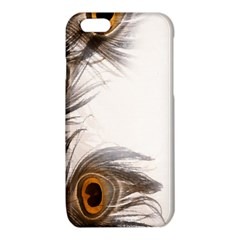 Peacock Feathery Background iPhone 6/6S TPU Case