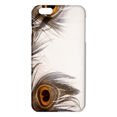 Peacock Feathery Background Iphone 6 Plus/6s Plus Tpu Case