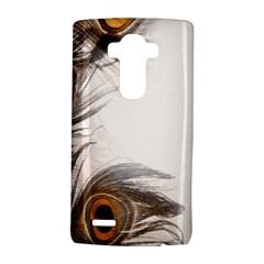 Peacock Feathery Background LG G4 Hardshell Case