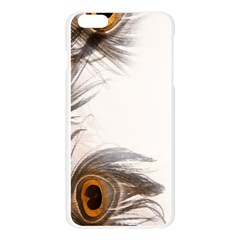 Peacock Feathery Background Apple Seamless iPhone 6 Plus/6S Plus Case (Transparent)