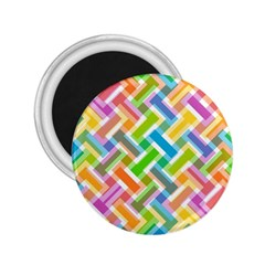 Abstract Pattern Colorful Wallpaper 2.25  Magnets