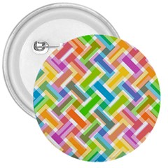 Abstract Pattern Colorful Wallpaper 3  Buttons