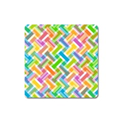 Abstract Pattern Colorful Wallpaper Square Magnet