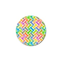 Abstract Pattern Colorful Wallpaper Golf Ball Marker (4 Pack)