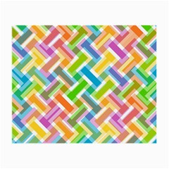 Abstract Pattern Colorful Wallpaper Small Glasses Cloth (2 Side)