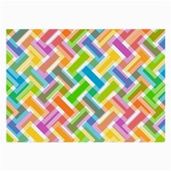 Abstract Pattern Colorful Wallpaper Large Glasses Cloth (2 Side)