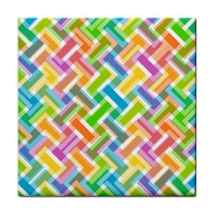 Abstract Pattern Colorful Wallpaper Face Towel