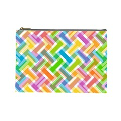 Abstract Pattern Colorful Wallpaper Cosmetic Bag (large)