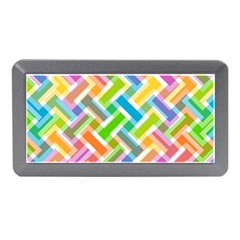 Abstract Pattern Colorful Wallpaper Memory Card Reader (mini)