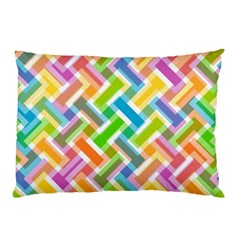Abstract Pattern Colorful Wallpaper Pillow Case (Two Sides)