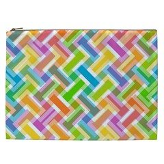Abstract Pattern Colorful Wallpaper Cosmetic Bag (XXL)
