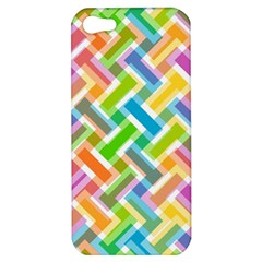 Abstract Pattern Colorful Wallpaper Apple iPhone 5 Hardshell Case