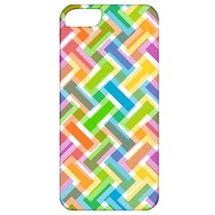 Abstract Pattern Colorful Wallpaper Apple iPhone 5 Classic Hardshell Case
