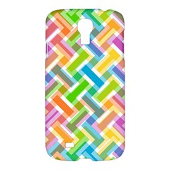 Abstract Pattern Colorful Wallpaper Samsung Galaxy S4 I9500/I9505 Hardshell Case