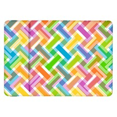 Abstract Pattern Colorful Wallpaper Samsung Galaxy Tab 8.9  P7300 Flip Case