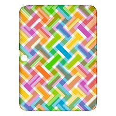 Abstract Pattern Colorful Wallpaper Samsung Galaxy Tab 3 (10 1 ) P5200 Hardshell Case