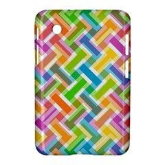 Abstract Pattern Colorful Wallpaper Samsung Galaxy Tab 2 (7 ) P3100 Hardshell Case