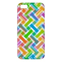 Abstract Pattern Colorful Wallpaper iPhone 5S/ SE Premium Hardshell Case