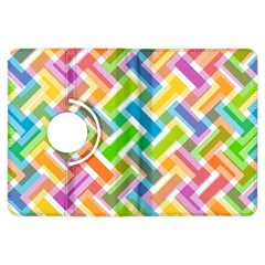 Abstract Pattern Colorful Wallpaper Kindle Fire HDX Flip 360 Case