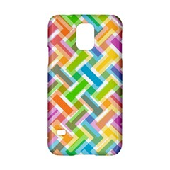 Abstract Pattern Colorful Wallpaper Samsung Galaxy S5 Hardshell Case