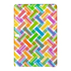 Abstract Pattern Colorful Wallpaper Samsung Galaxy Tab Pro 10.1 Hardshell Case