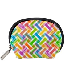 Abstract Pattern Colorful Wallpaper Accessory Pouches (Small)