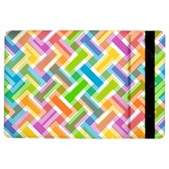Abstract Pattern Colorful Wallpaper iPad Air 2 Flip
