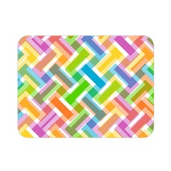 Abstract Pattern Colorful Wallpaper Double Sided Flano Blanket (mini)