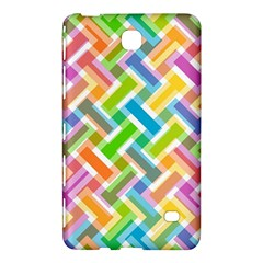 Abstract Pattern Colorful Wallpaper Samsung Galaxy Tab 4 (8 ) Hardshell Case