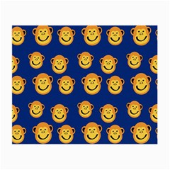 Monkeys Seamless Pattern Small Glasses Cloth