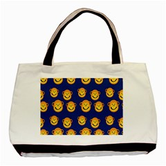 Monkeys Seamless Pattern Basic Tote Bag