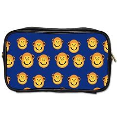 Monkeys Seamless Pattern Toiletries Bags 2-Side
