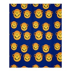 Monkeys Seamless Pattern Shower Curtain 60  x 72  (Medium)