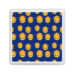 Monkeys Seamless Pattern Memory Card Reader (square)