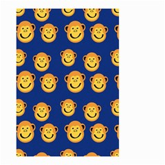 Monkeys Seamless Pattern Small Garden Flag (two Sides)