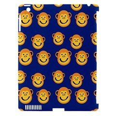 Monkeys Seamless Pattern Apple iPad 3/4 Hardshell Case (Compatible with Smart Cover)
