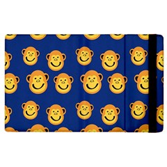 Monkeys Seamless Pattern Apple iPad 2 Flip Case