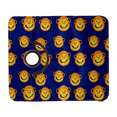 Monkeys Seamless Pattern Galaxy S3 (flip/folio)
