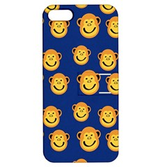 Monkeys Seamless Pattern Apple iPhone 5 Hardshell Case with Stand