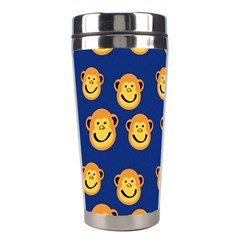 Monkeys Seamless Pattern Stainless Steel Travel Tumblers