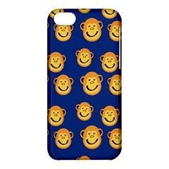 Monkeys Seamless Pattern Apple iPhone 5C Hardshell Case