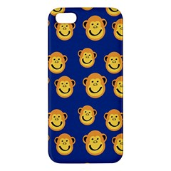 Monkeys Seamless Pattern iPhone 5S/ SE Premium Hardshell Case