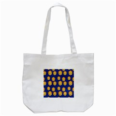 Monkeys Seamless Pattern Tote Bag (White)