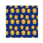Monkeys Seamless Pattern Small Satin Scarf (Square) Front
