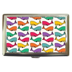 Small Rainbow Whales Cigarette Money Cases