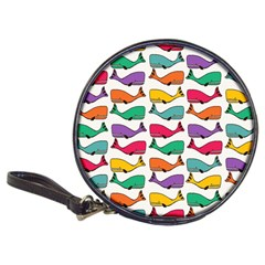 Small Rainbow Whales Classic 20-CD Wallets