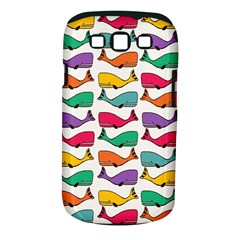 Small Rainbow Whales Samsung Galaxy S III Classic Hardshell Case (PC+Silicone)