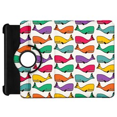 Small Rainbow Whales Kindle Fire HD 7