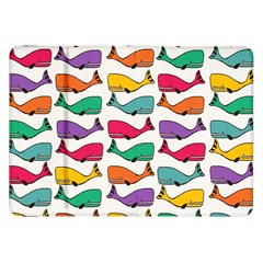 Small Rainbow Whales Samsung Galaxy Tab 8.9  P7300 Flip Case